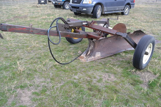 Pull Type V Ditcher, Square Nose