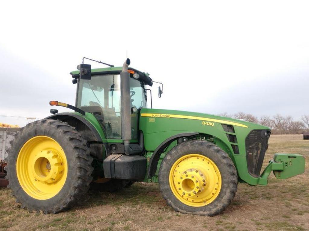 2009 John Deere 8430 MFWD Tractor,