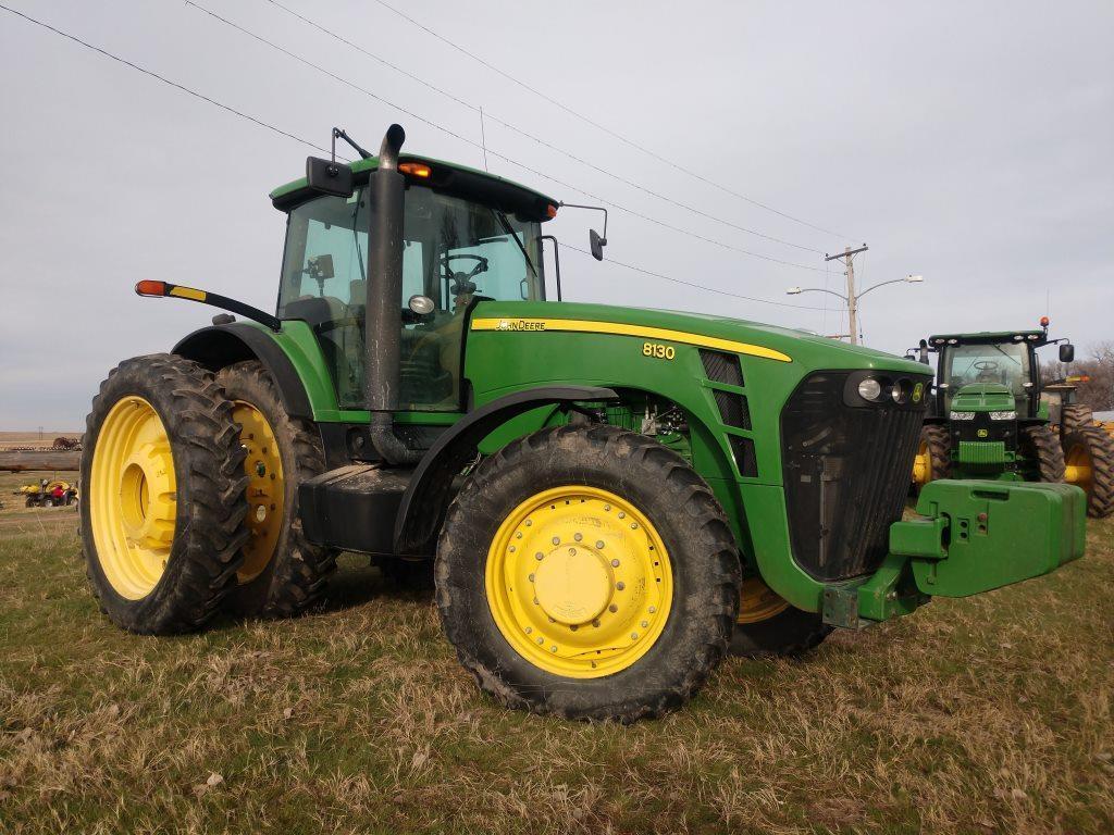 2007 John Deere 8130 MFWD Tractor,