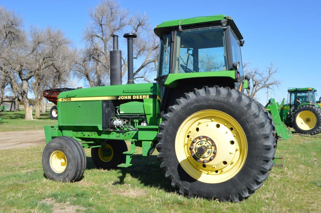 1990 John Deere 4755 Tractor,
