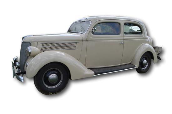 1936 Ford Deluxe 2 Door Sedan,