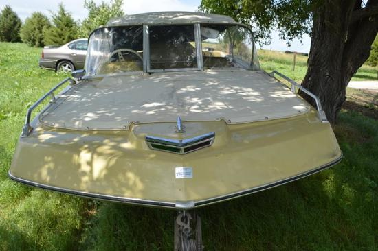 1971 Chrysler Sport Fury Tri-Hull Boat,