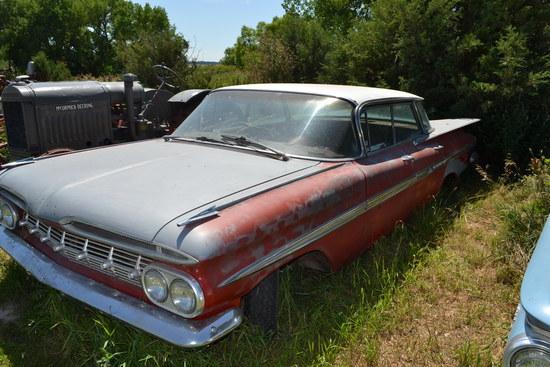 1959 Chevrolet Impala 4 Door Hard Top,