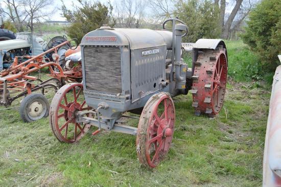 McCormick Deering 10-20 Tractor,