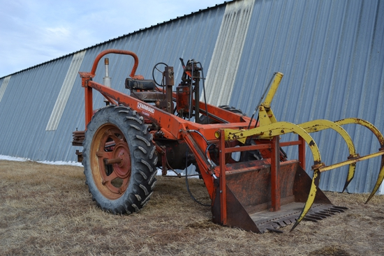 Farmall H Reversed with Super H Motor