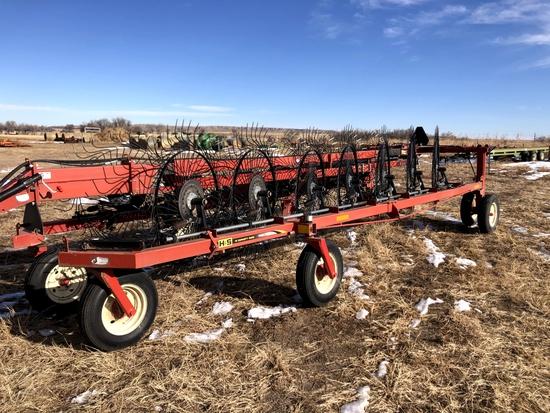 H&S 1460 14 Wheel Rake