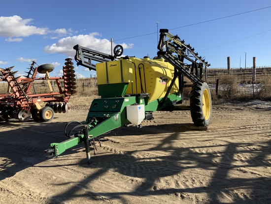Demco Conquest 1100 Gal. Field sprayer