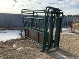 Big Valley Cattle Squeeze Chute