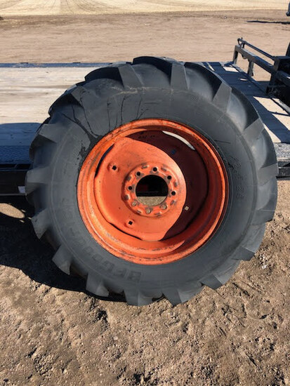 12.4-24 Rear Combine Wheel & Tire