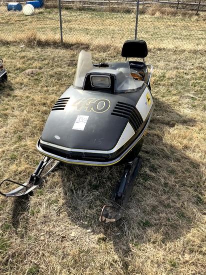John Deere 440 Snowmobile