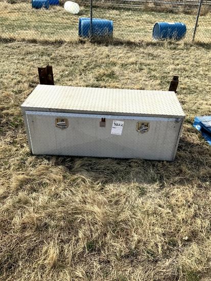 Diamond Plate Aluminum Semi Trailer Storage Box