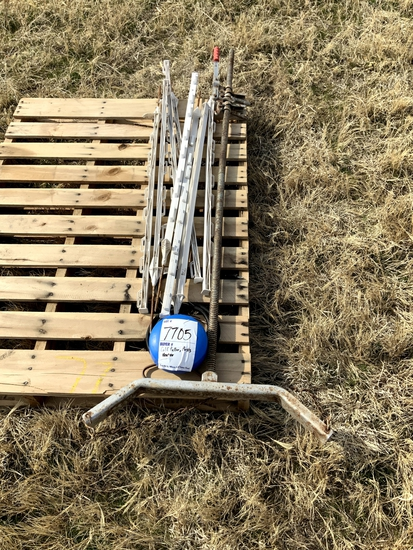 Calf Puller, Tank Heater, 8 Electric Fence Posts