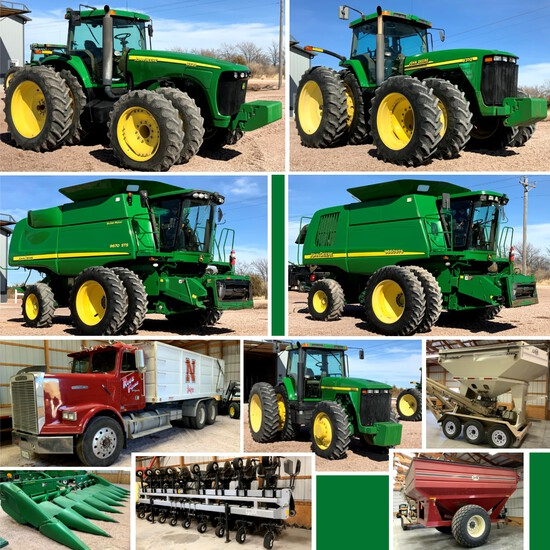 Roes Farms Equipment Auction