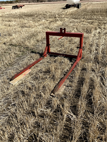 3 Pt Round Bale Mover
