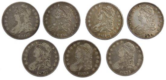 Bust 50c Silver Assortment