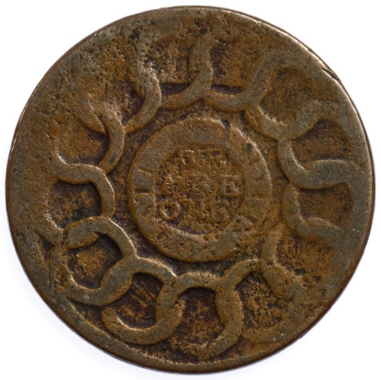1787 Fugio Cent G