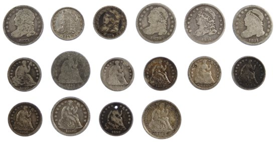 Seated H10c and 10c Assortment