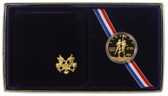 1984-S $10 Gold Olympic Commemorative