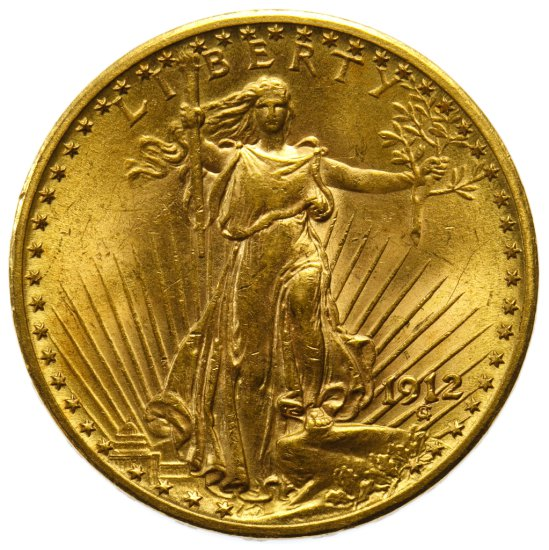 1912 $20 Gold