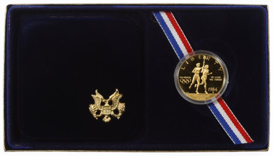 1984-D $10 Gold Olympic Commemorative