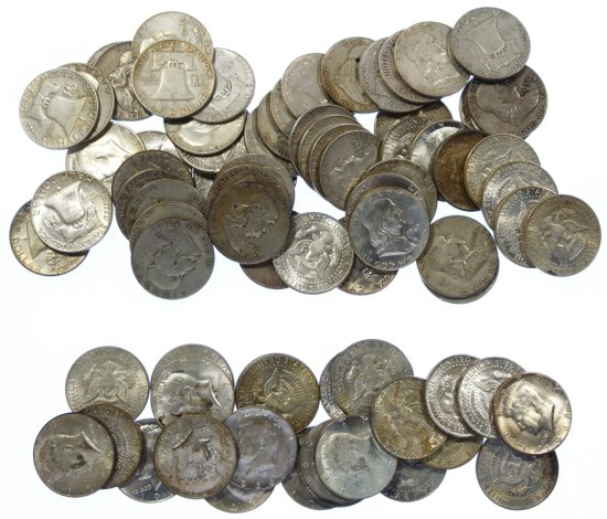 Franklin and Kennedy 50c Assortment
