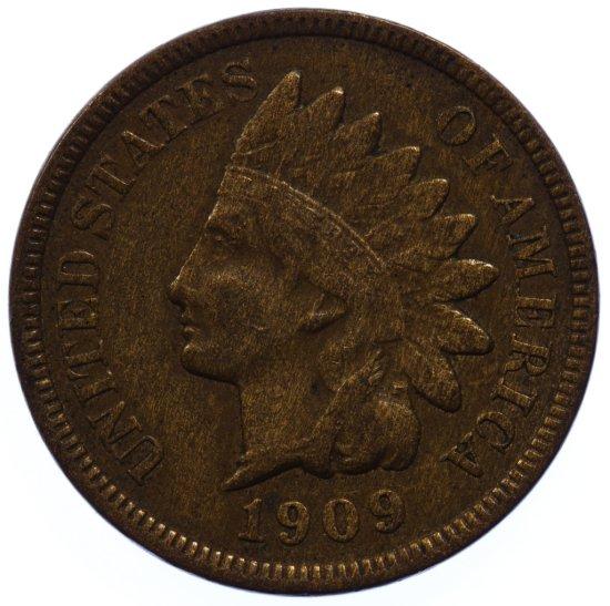 1909-S Indian Head 1c VF