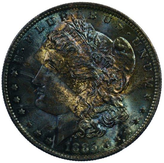 1885-O $1 Unc.