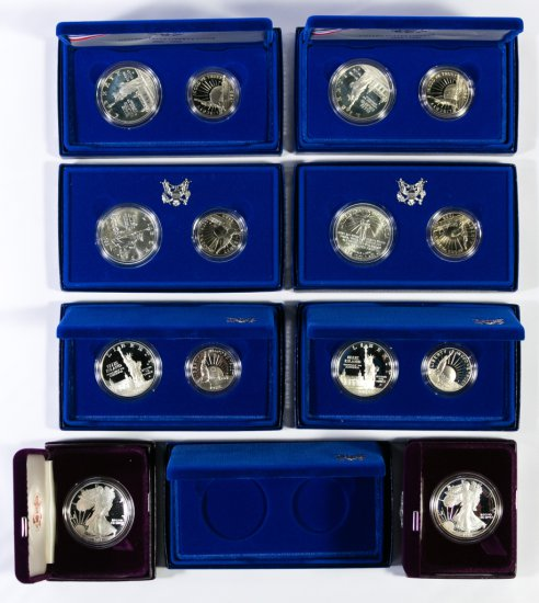American Silver Eagle and Liberty Coin Assortment