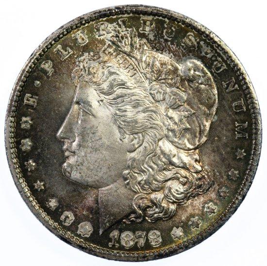 1878-CC $1 Unc.