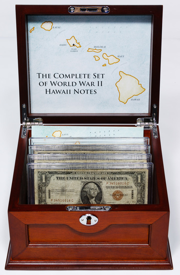 1934-A and 1935-A Hawaii Silver Certificate Assortment