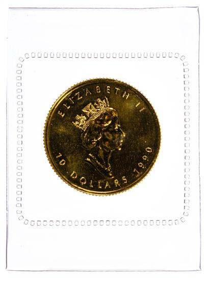 Canada: 1990 $10 Gold Unc.