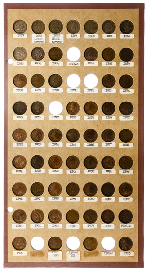Indian Head and Lincoln 1c Assortment
