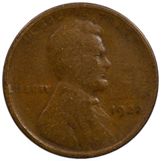 1922 1c 'Plain' VG
