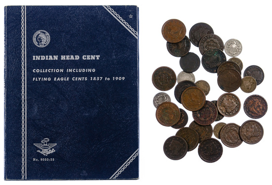 Large and Indian 1c Assortment