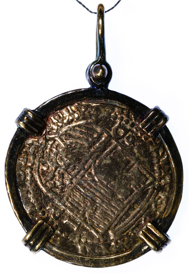 Spain: REPLICA Atocha Shipwreck Coin and Bezel