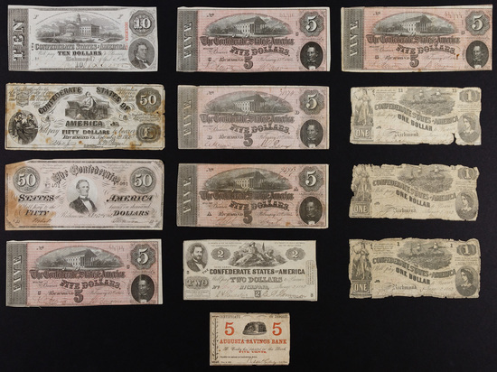 Confederate: Currency Assortment