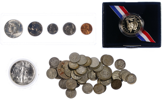 US and World Coin Assortment
