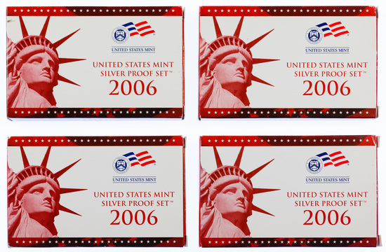 2006 US Silver Proof Sets
