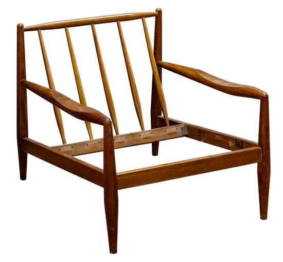 Adrian Pearsall Danish Modern Chair Frame