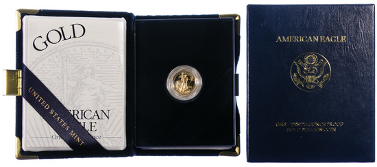 2001-W $5 Gold Proof