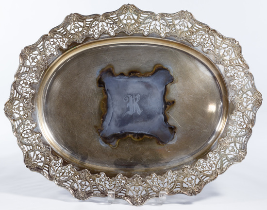 Black, Starr & Frost Sterling Silver Tray