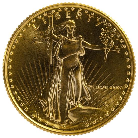 1986 $10 Gold Unc.