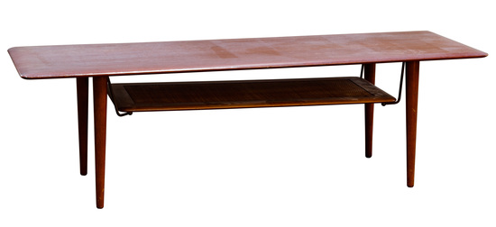 Peter Hvidt for France and Sons Teak Coffee Table