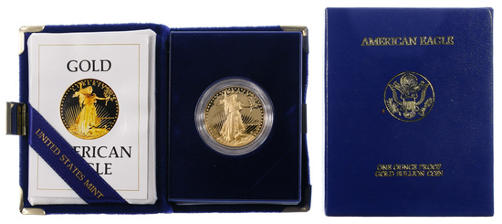 1986-W $50 Gold Proof