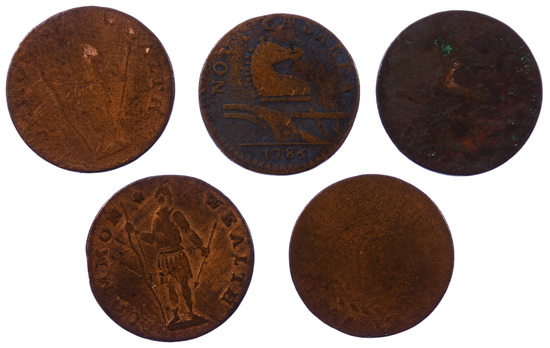 Colonial Coin Assortment