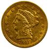 1861 $2 1/2 Gold