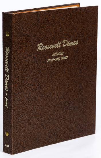 Roosevelt 10c Complete Set BU