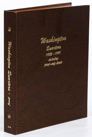 Washington 25c Complete Set BU