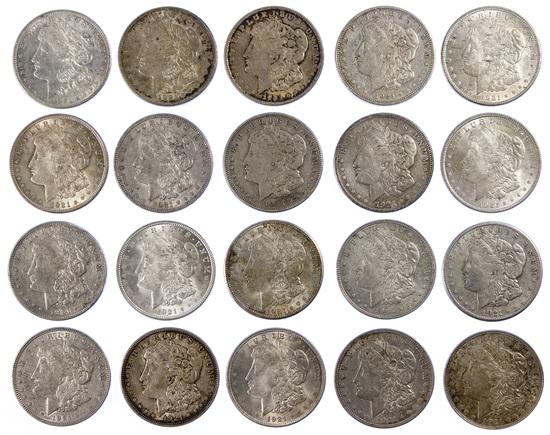 1921 Morgan $1 Assortment