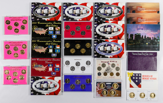 US Mint Set and State 25c Assortment